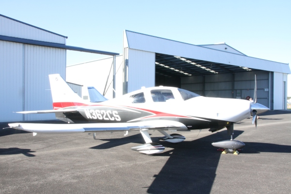 This now Cessna TTX, started life as the certified Lancair.