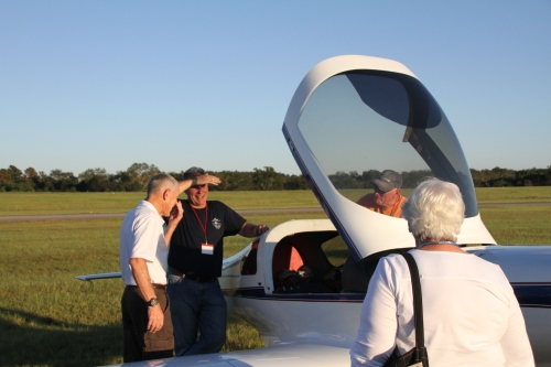Jay, Bill and myself at the LOBO maintenance clinic. We plan either 2 or 3 day event for our next fly-in, lots of type specific maintenance for all types.